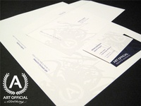 Art Official Clothing Stationery & Logo