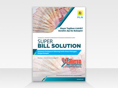 PLN Bill Solution Flyer