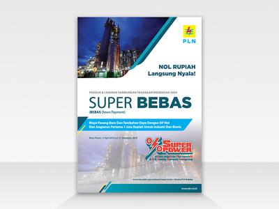 PLN Super Bebas Flyer