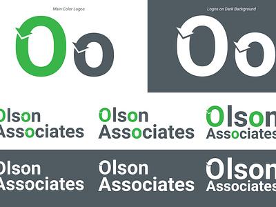 Olson Associates - Re-Brand logotype redesign rebrand refresh new fresh mark symbol logo design branding logo design concept design rebranding rebrand logo design logo