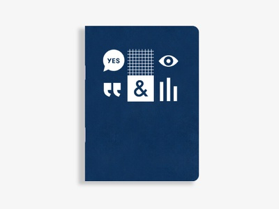 Patreon on Tour Notebook chart bar yes graph paper eye navy ampersand graphic notebook