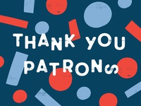Thank You Patrons