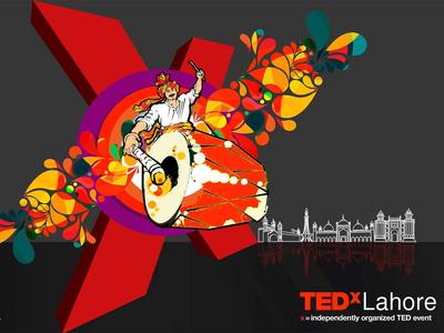 TEDxLahore backdrop