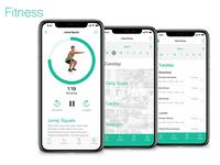 Fitness App Demo