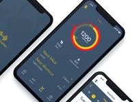 Fitness App Dark