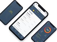 Fitness App UI