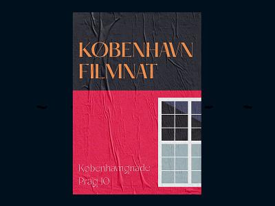 Copenhagen autumn copenhagen poster typography
