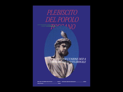 statue statue toscana italy bird poster typography