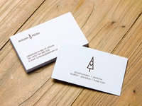logo and business card for the forest expert