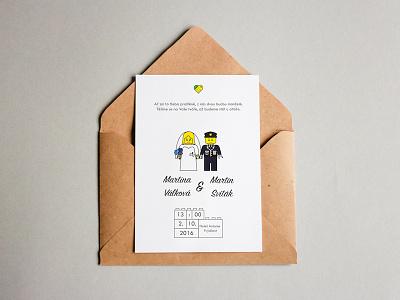 Lego Themed Wedding Invitation lego invitation wedding