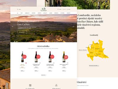 La Fattoria - wineshop wine italy webdesign