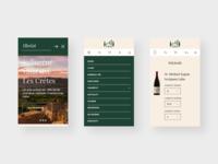 La Fattoria - wineshop - responsive