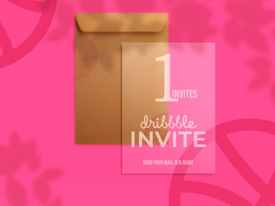 One Invite dribbble