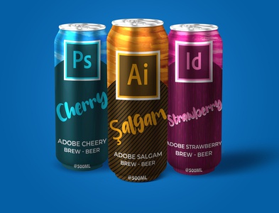 Adobe Creative Beer Can 500mL