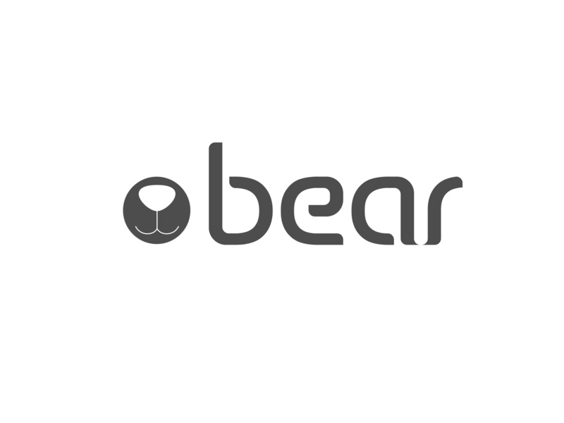 Bear cafe branding cafe website logo 2d vector art logo branding flat illustration vector design
