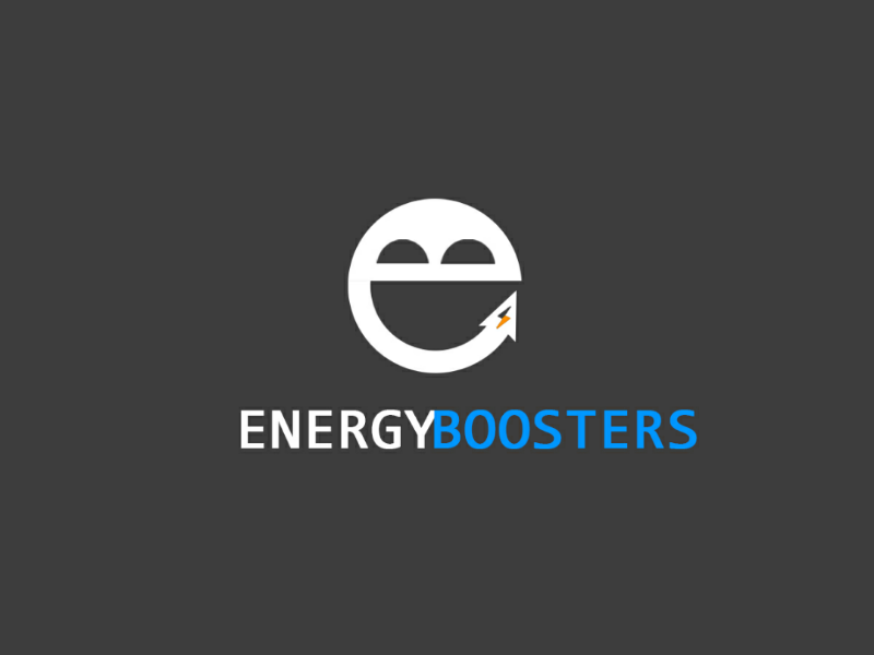 Energy Booster illustration photoshop booster logos design energy logo