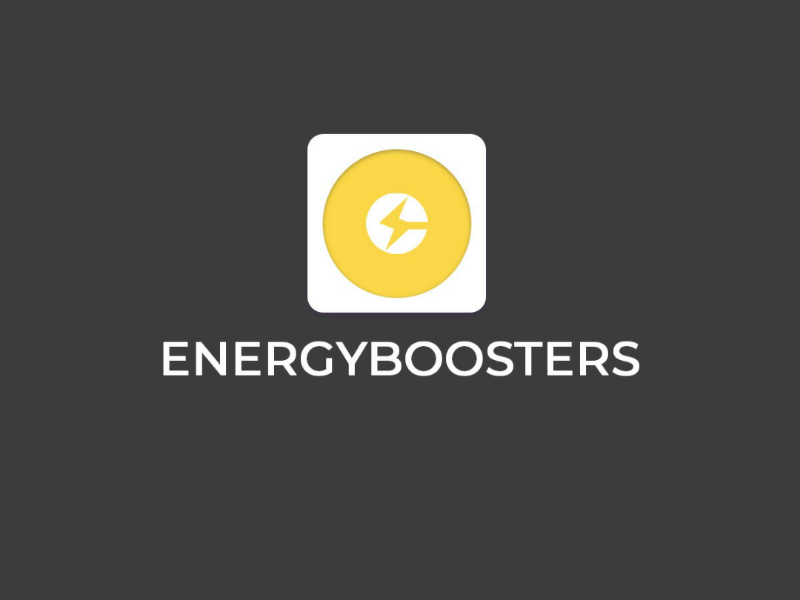 Energy Booster energy design logo illustration photoshop energyboosting logos logodesign