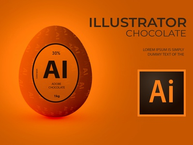 Adobe Easter Egg Chocolates - Ai