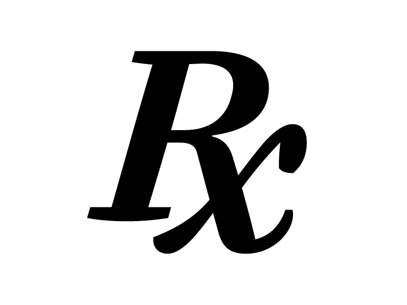 Prescription Symbol By Frank Griehammer Dribbble