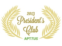 President's Club Logo for Apttus Inc.