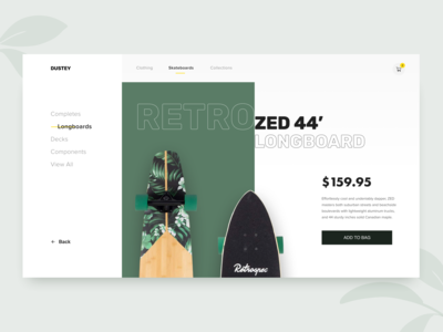 Skate store - Product page