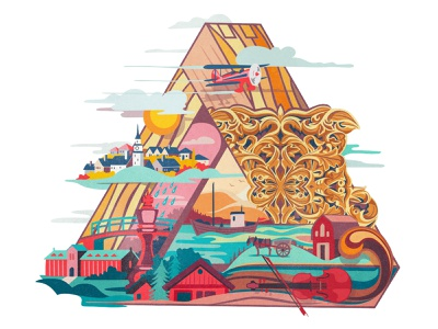Timbermarket community illustration