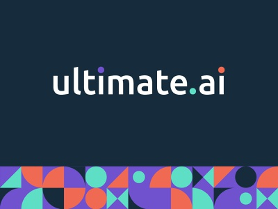 Finished brand route for Ultimate.ai web agency digital agency branding and identity design brand and identity logo branding concept brand agency branding
