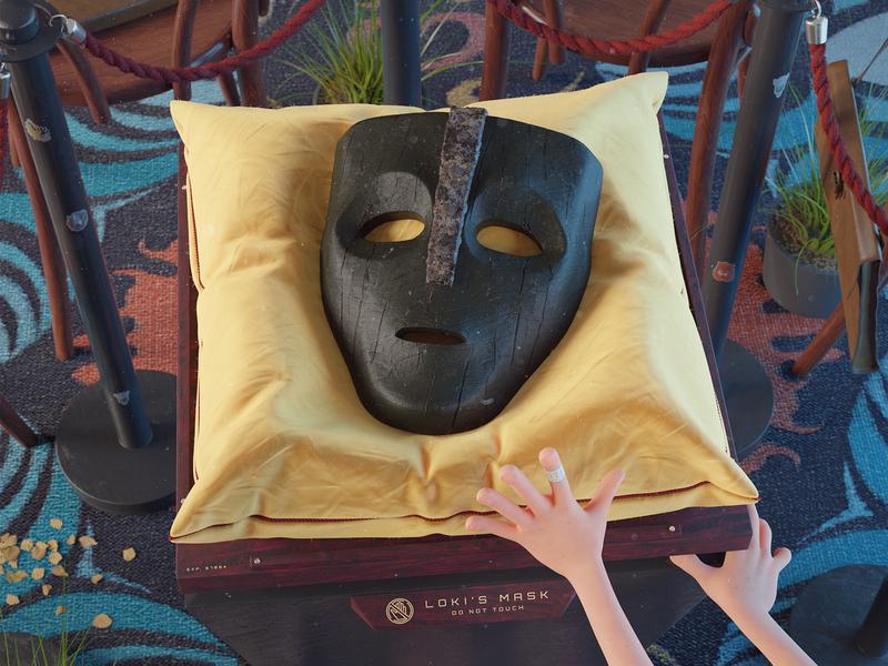 The Mask styleframe storytelling story kid mask the mask stylised colorful 3d concept blender