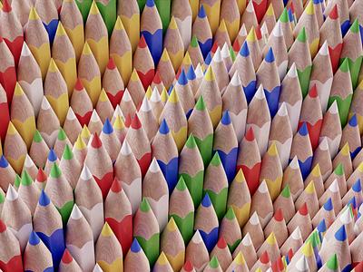 Pencil Ocean water wave ocean pencil 3d art loop detailed colorful simple animation concept blender 3d