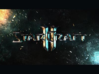 StarCraft II logo 3D recreation concept blender 3d logo ii craft star starcraft 2 starcraft