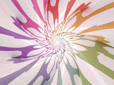 Loop loop colorful animation simple blender 3d