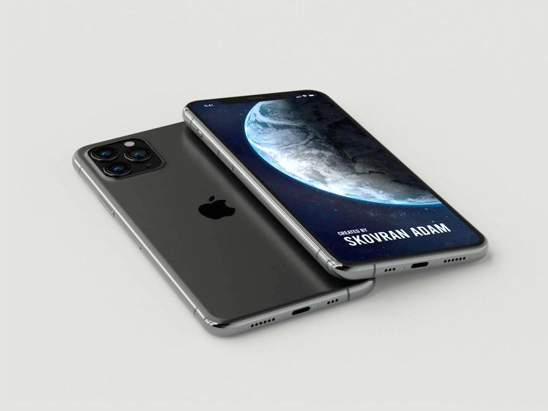 Iphone 11 mockup iphone 11 iphone iphone 11 pro teaser mockup ui design detailed concept blender 3d
