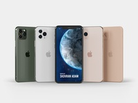 iPhone 11 Pro mock-up Master Pack