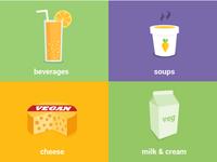 liquids & non-dairy