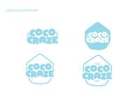 Coco Craze Logo Explorations