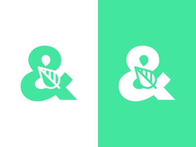 Leaf/ Ampersand  Concept (Unused)