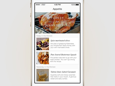 In the Kitchen: Made with Sketch sketchapp sketch ios7 app ui design recipe feeds interface kitchen