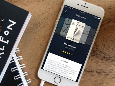 Best Sellers library ux ui iphone ios read book