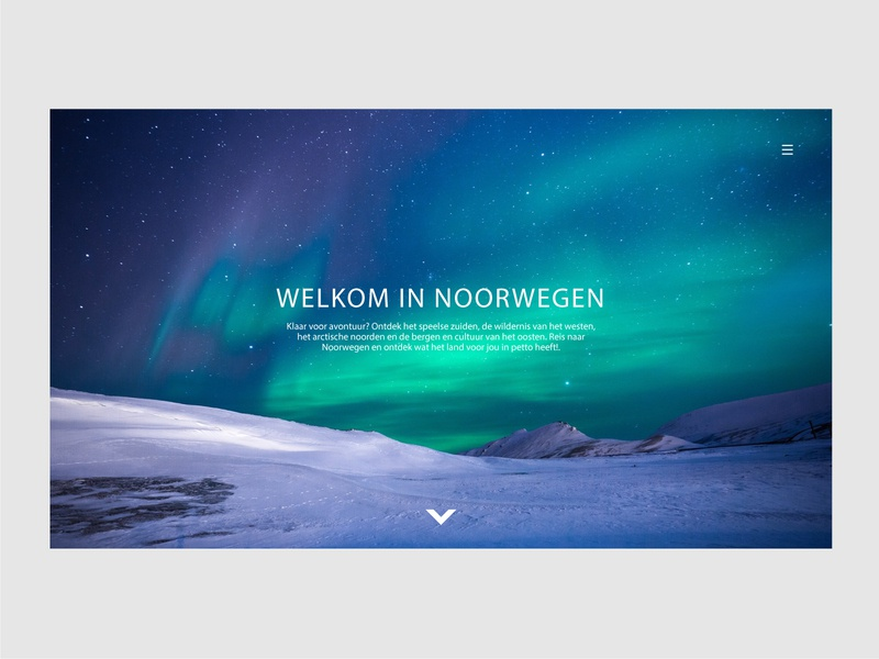 Web- Visit Norway job web amsterdam ui ux design
