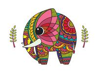 Colour pop : Elephant
