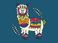Colour pop : Llama