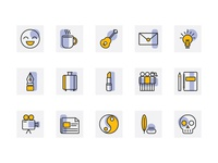 Icons for genres of writing