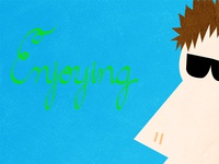 """""""Enjoying"""" Lettering"""