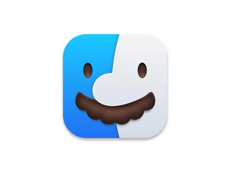 Italian Finder apple icon app nintendo mario big sur finder