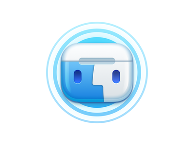 AirBuddy 2 airpods apple iconography icon design icon
