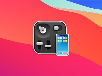 Control Room app icon apple developer xcode simulator test device iphone app icon room control
