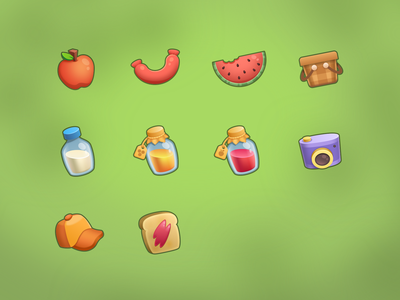 PicnIcons picnic game game icon icon design icon set icon
