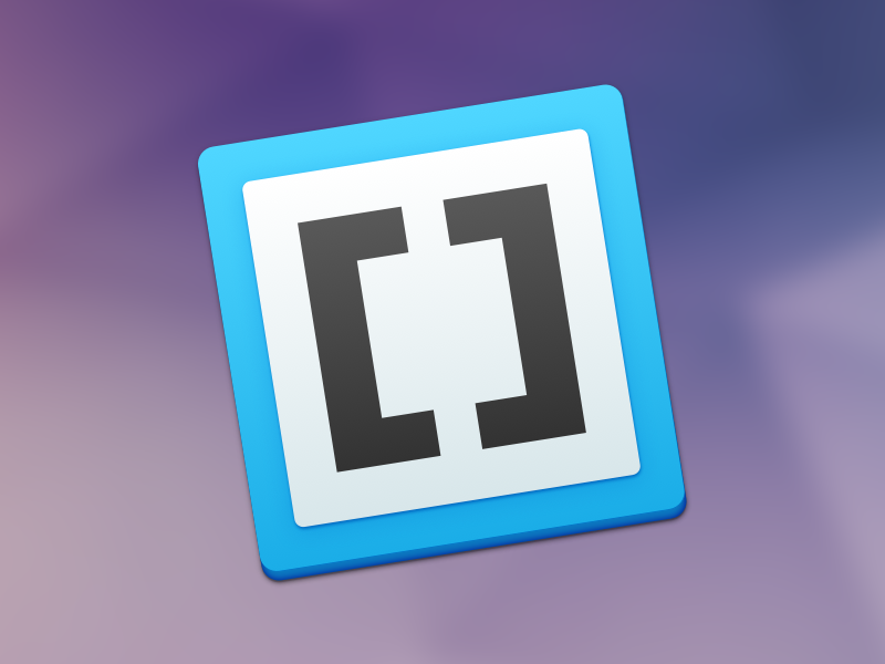 Brackets replacement icon brackets icon os x yosemite mac code