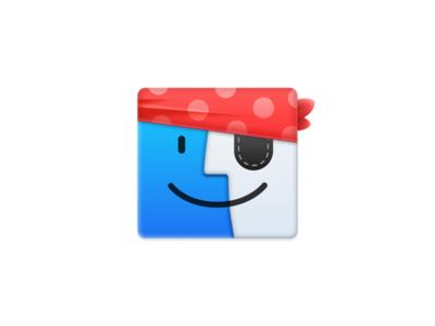 (Pirate) Finder icon