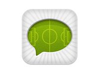 Soccer app icon